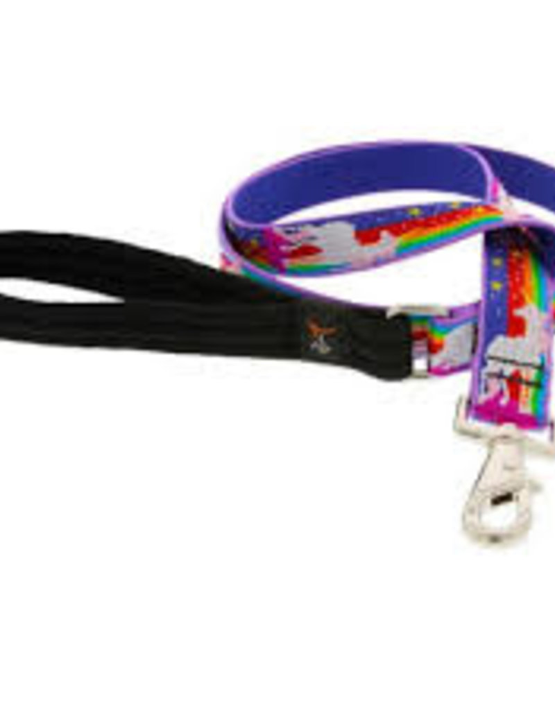 "LupinePet Lupine LIMITED EDITION Leash 1"" Magic Unicorn 4'"