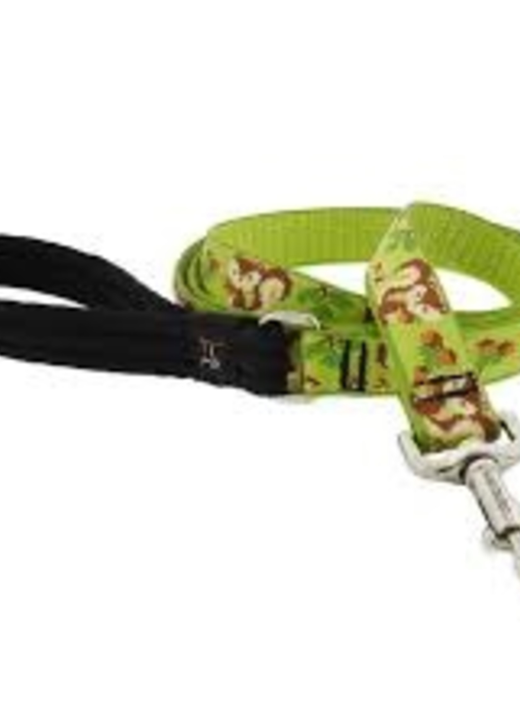 """LupinePet Lupine LIMITED EDITION Leash 1"""" Go Nuts 4'"""