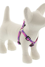 LupinePet Lupine HL 3/4in Pink Paws 20-30 Step In Harness