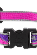LupinePet Lupine HL 3/4in Pink Paws 15-25 Adj Collar
