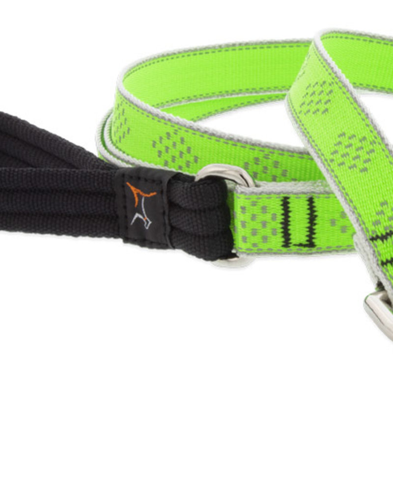 LupinePet Lupine HL 3/4in Green Diamond 6ft Leash