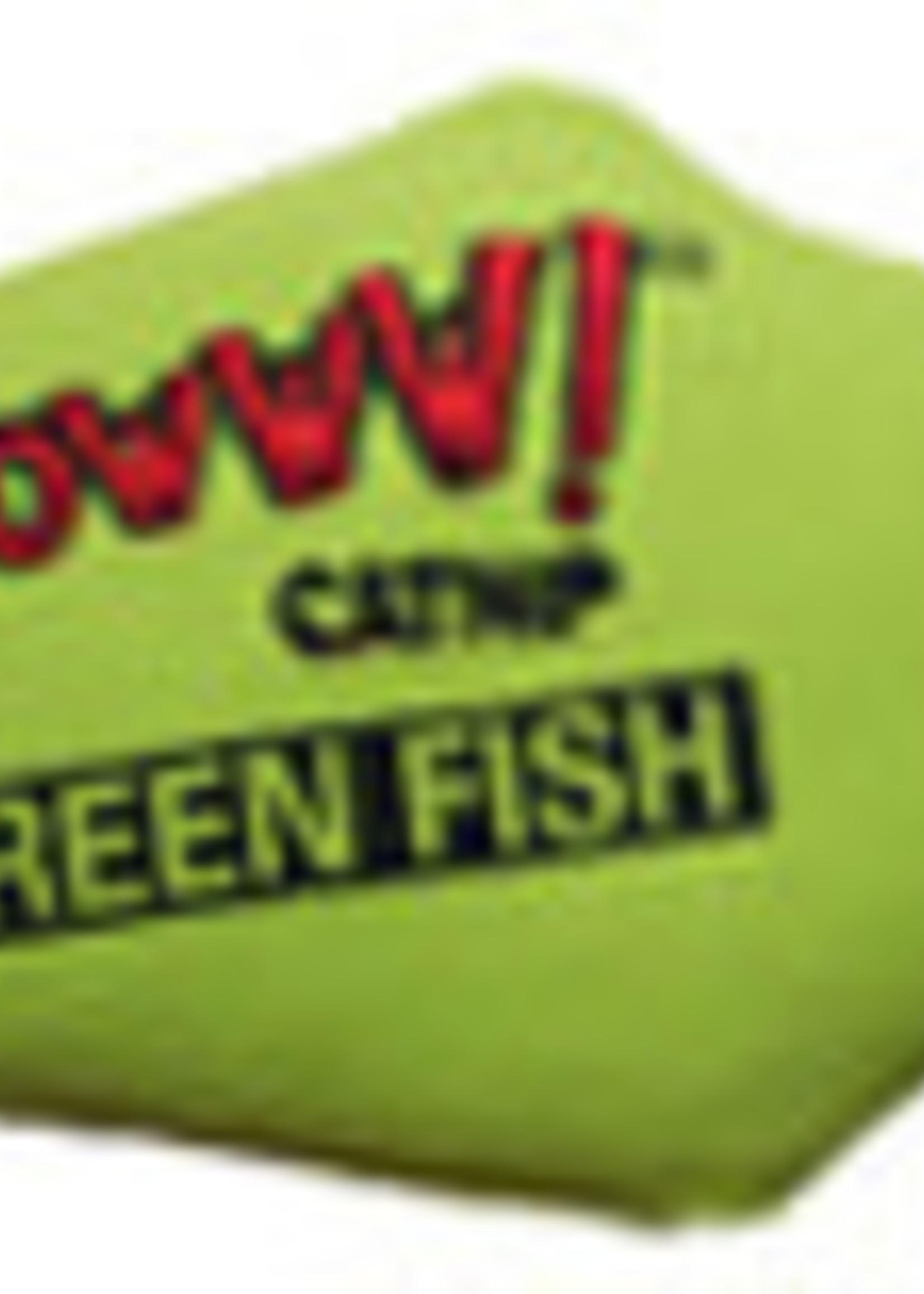 Vee Enterprises Yeowww! Green Catnip Fish