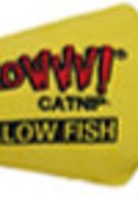 Vee Enterprises Yeowww! Yellow Catnip Fish