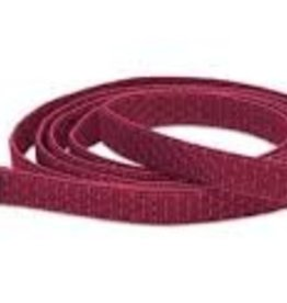 """LupinePet Lupine 1"""" Berry 4ft Leash"""