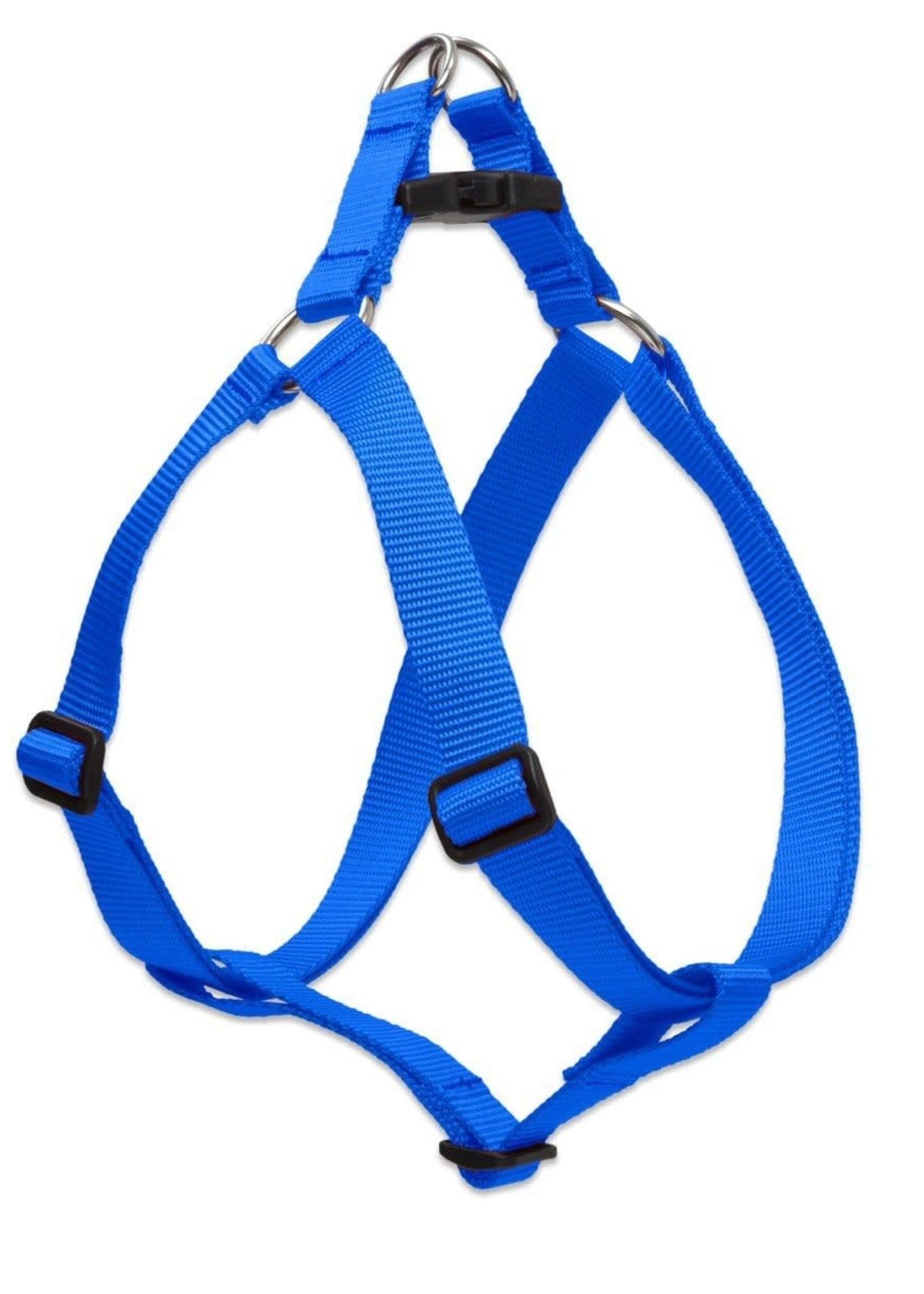 """LupinePet Lupine 1/2"""" Blue 10""""-13"""" Step In Hrns"""