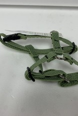 """LupinePet Lupine Eco 1/2"""" Moss Roman Harness 9-14in"""