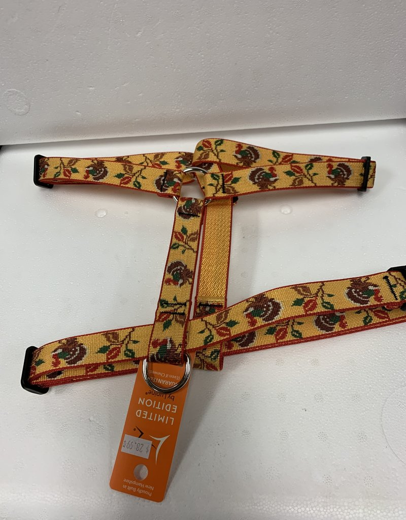 LupinePet Lupine 1in Turkey Trot 24-38 Roman Harness