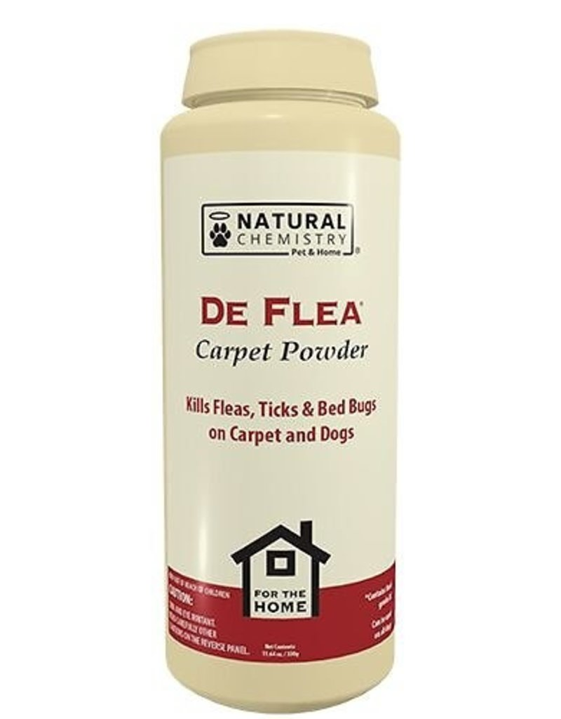 Muntech Products Inc Natural Chemistry DeFlea Carpet Powder 11.64oz