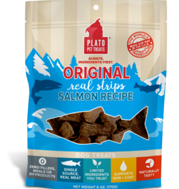 Plato Pet Treats - KDR Plato Salmon Strips 6oz.