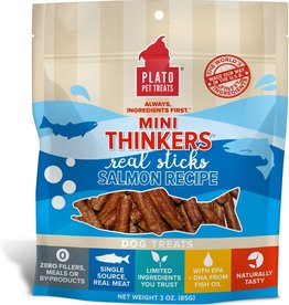 Plato Pet Treats - KDR Plato Mini Thinkers Salmon 3oz