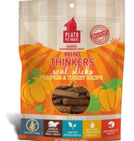 Plato Pet Treats - KDR Plato Mini Thinkers Turkey & Pumpkin 3oz