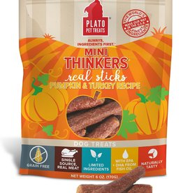 Plato Pet Treats - KDR Plato Mini Thinkers Turkey & Pumpkin 6oz
