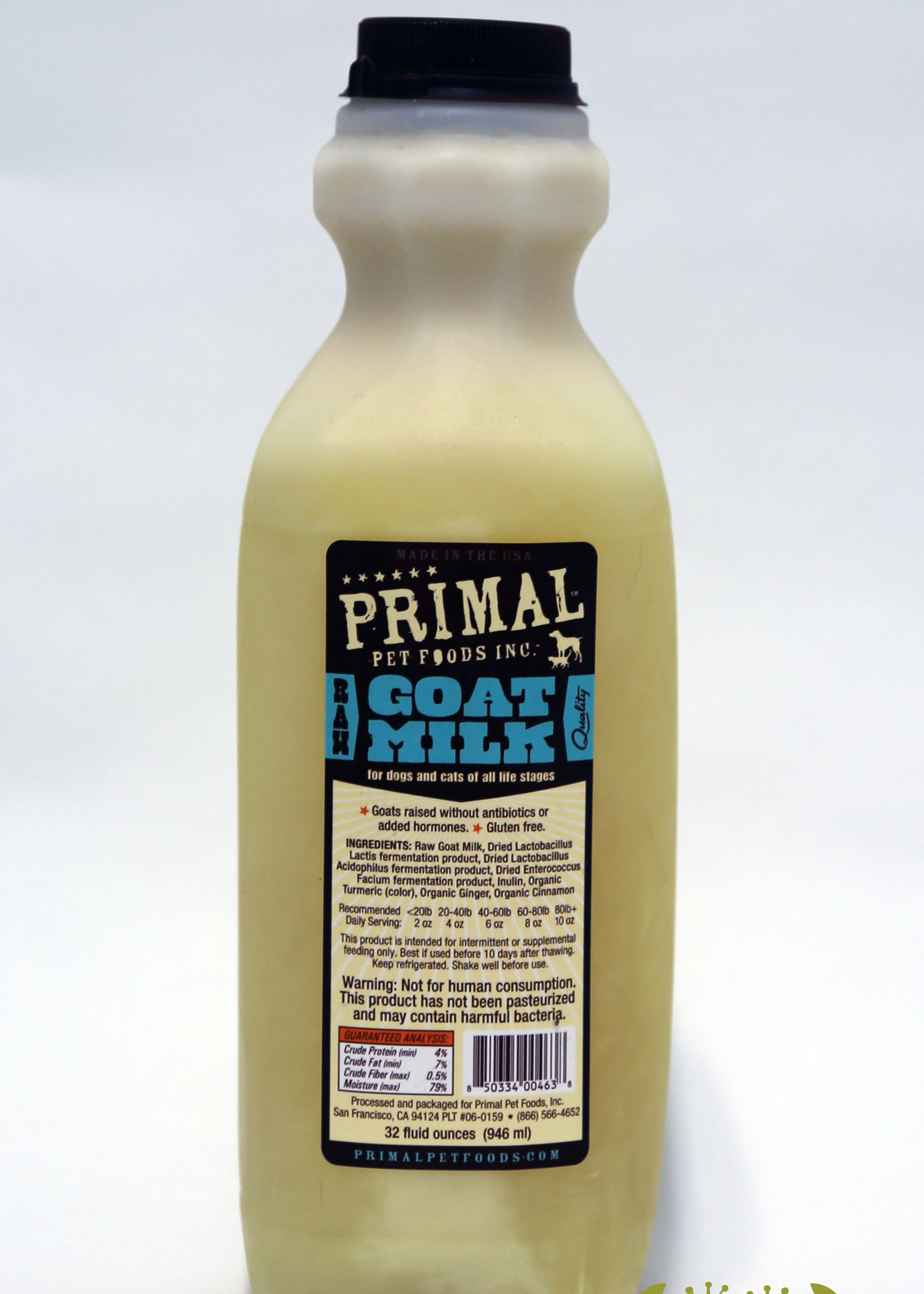 Primal Pet Foods Primal RAW Goats Milk 32z
