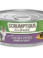 Scrumptious Scrumptious Cat Chicken and Gravy 2.8oz