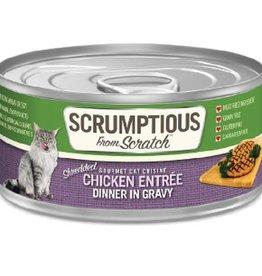 Scrumptious Scrumptious Cat Chicken and Gravy 2.8oz