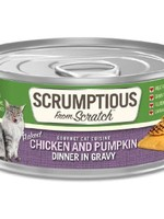 Scrumptious Scrumptious Cat Chicken, Pumpkin, and Gravy 2.8oz
