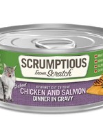 Scrumptious Scrumptious Cat Chicken, Salmon, and Gravy 2.8oz