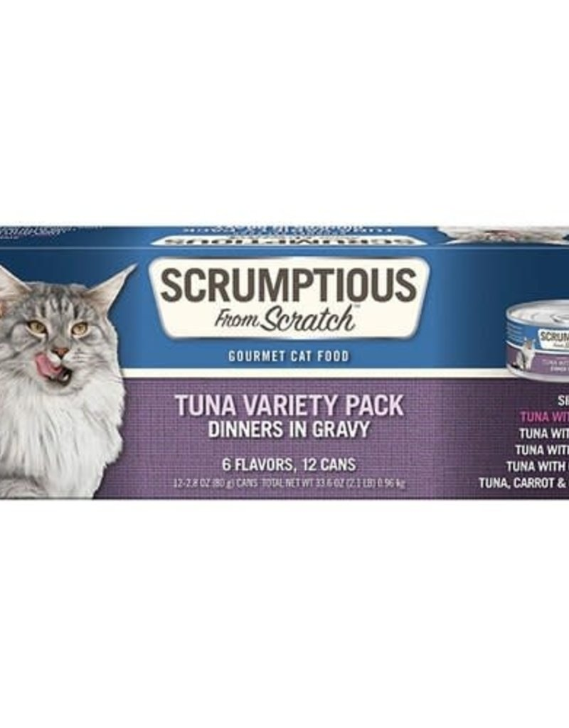Scrumptious Scrumptious Cat Tuna Variety Pack 2.8oz