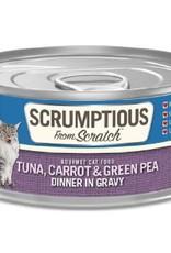 Scrumptious Scrumptious Cat Tuna, Carrot, Pea, and Gravy 2.8oz