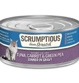 Scrumptious Scrumptious Cat Tuna, Carrot, Pea, and Gravy 2.8oz