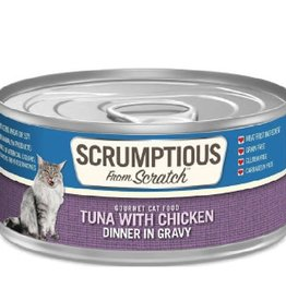 Scrumptious Scrumptious Cat Tuna, Chicken, and Gravy 2.8oz