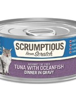 Scrumptious Scrumptious Cat Tuna, Oceanfish, and Gravy 2.8oz
