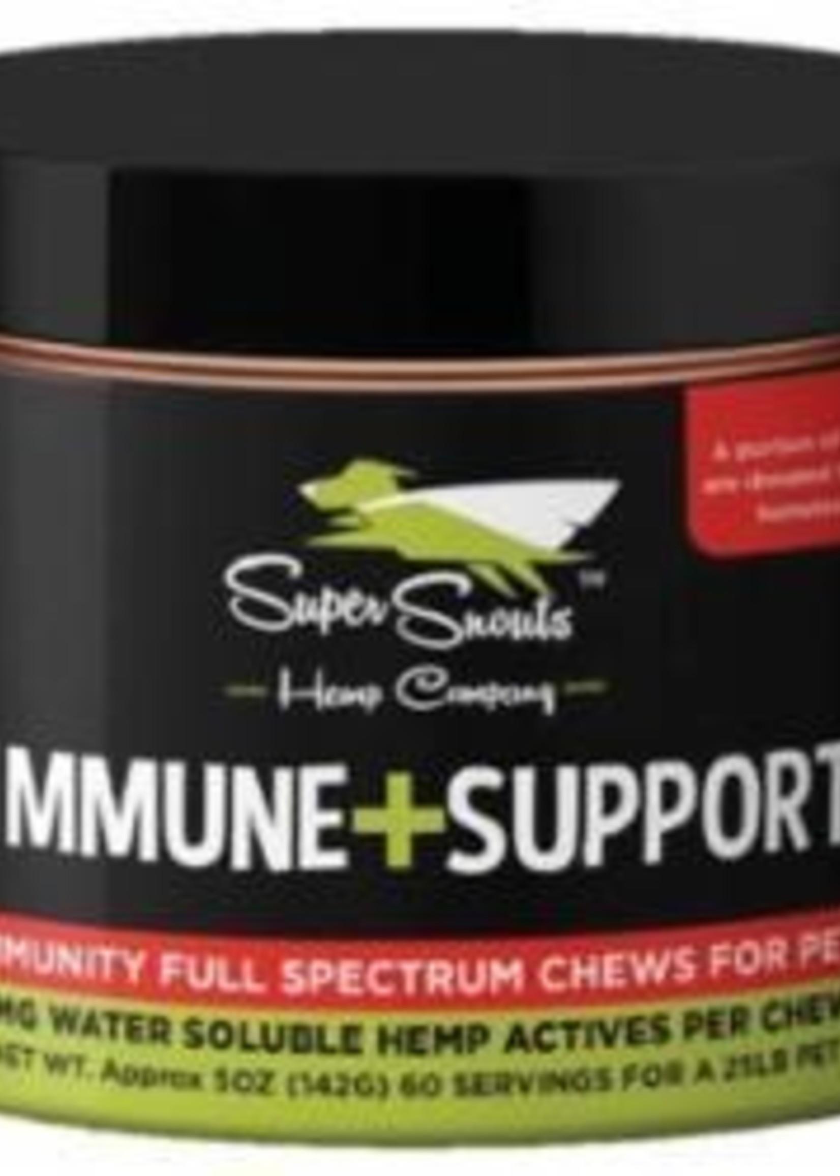 Super Snouts Super Snouts Hemp Dog Full Spectrum Chew Immune Support 30ct