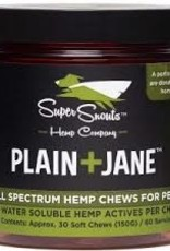 Super Snouts Super Snouts Dog Broad CBD Chew Plain Jane 30ct
