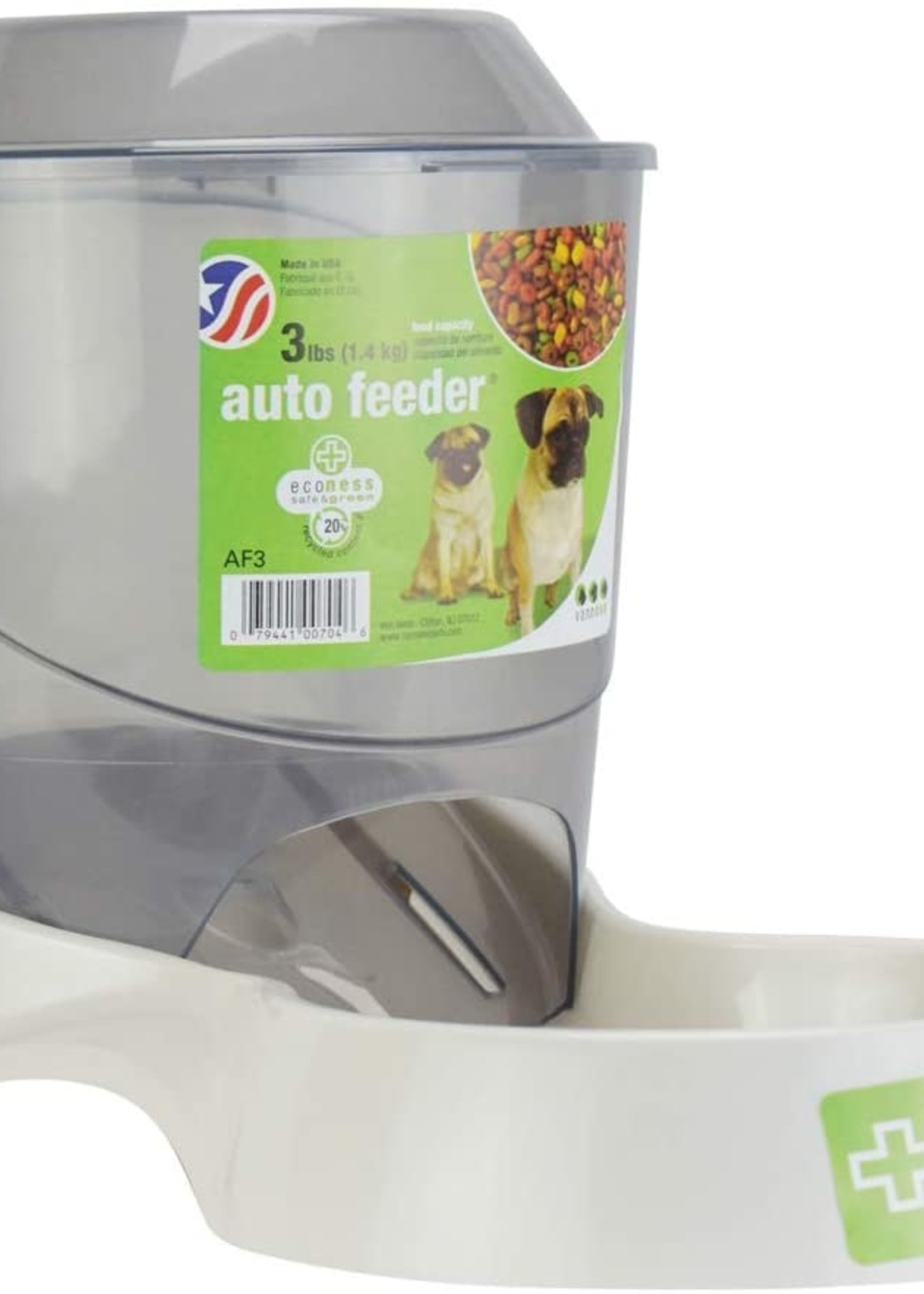 Van Ness Plastics, Inc. Van Ness Auto Dog Feeder Small 3 lb.