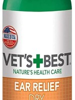 Vet's Best Vet's Best Ear Relief Dry 4oz