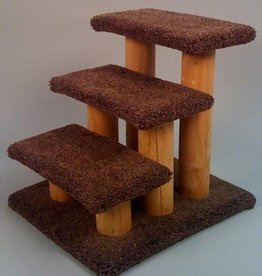 NORTH AMERICAN PET Classy Kitty Pet Triple Step Stairs16in