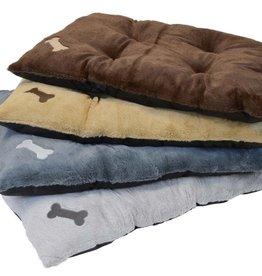 Dallas Manufacturing Company Dallas Manufacturing Bone Applique Tufted Dog Bed 30X40