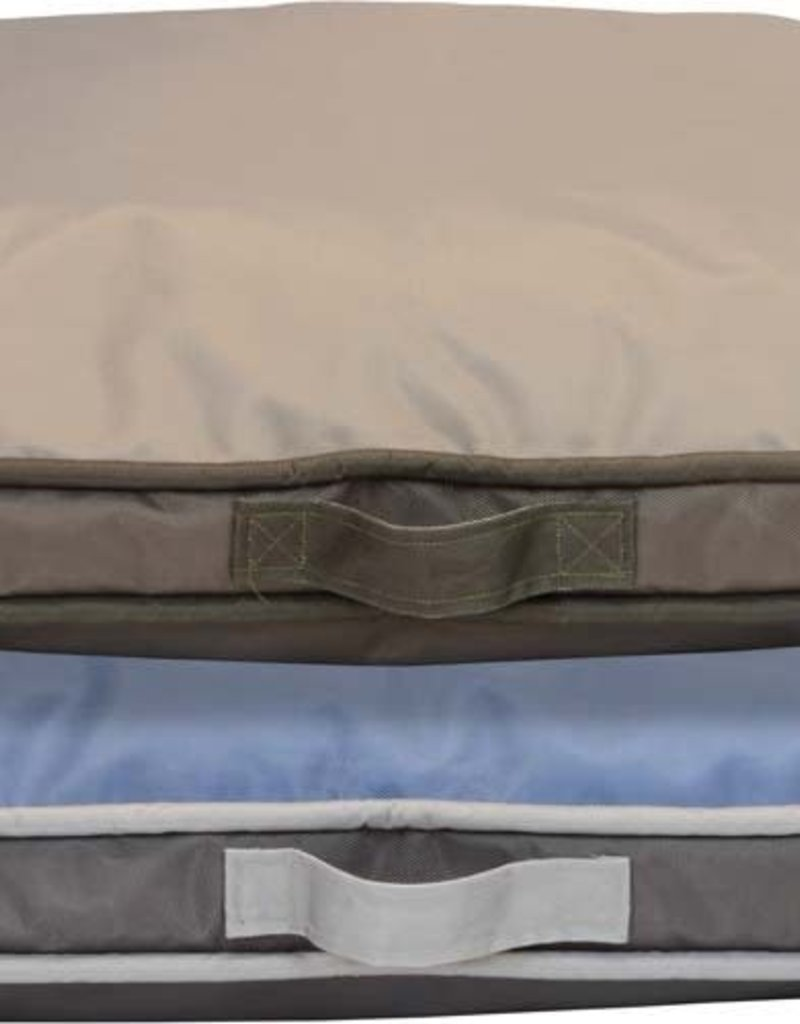 Dallas Manufacturing Company Dallas Manufacturing Weather & Chew Resistant Reversible Gusset Dog Bed 35x25