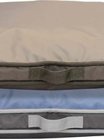 Dallas Manufacturing Company Dallas Manufacturing Weather & Chew Resistant Reversible Gusset Dog Bed 42x32