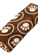 Ethical Product Inc./Fashion Pet/Lookin Good Ethical Snuggler Paws/Circle Blanket Chocolate 30X38