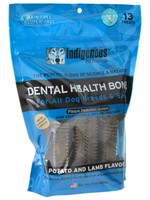 Indigenous Indigenous Dental Bone Potato and Lamb 17z 13 treats