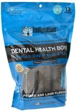 Indigenous Indigenous Dental Bone Potato and Lamb 17z 13 treats