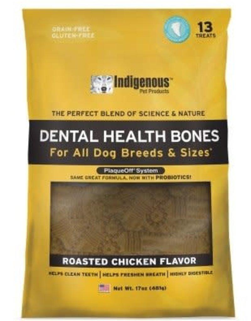 Indigenous Indigenous Dental Bone Roasted Chicken 17z 13 treats