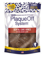 Plaque Off by Swedencareusa Plaque Off Dog Dental Care Bones Bacon 17 oz