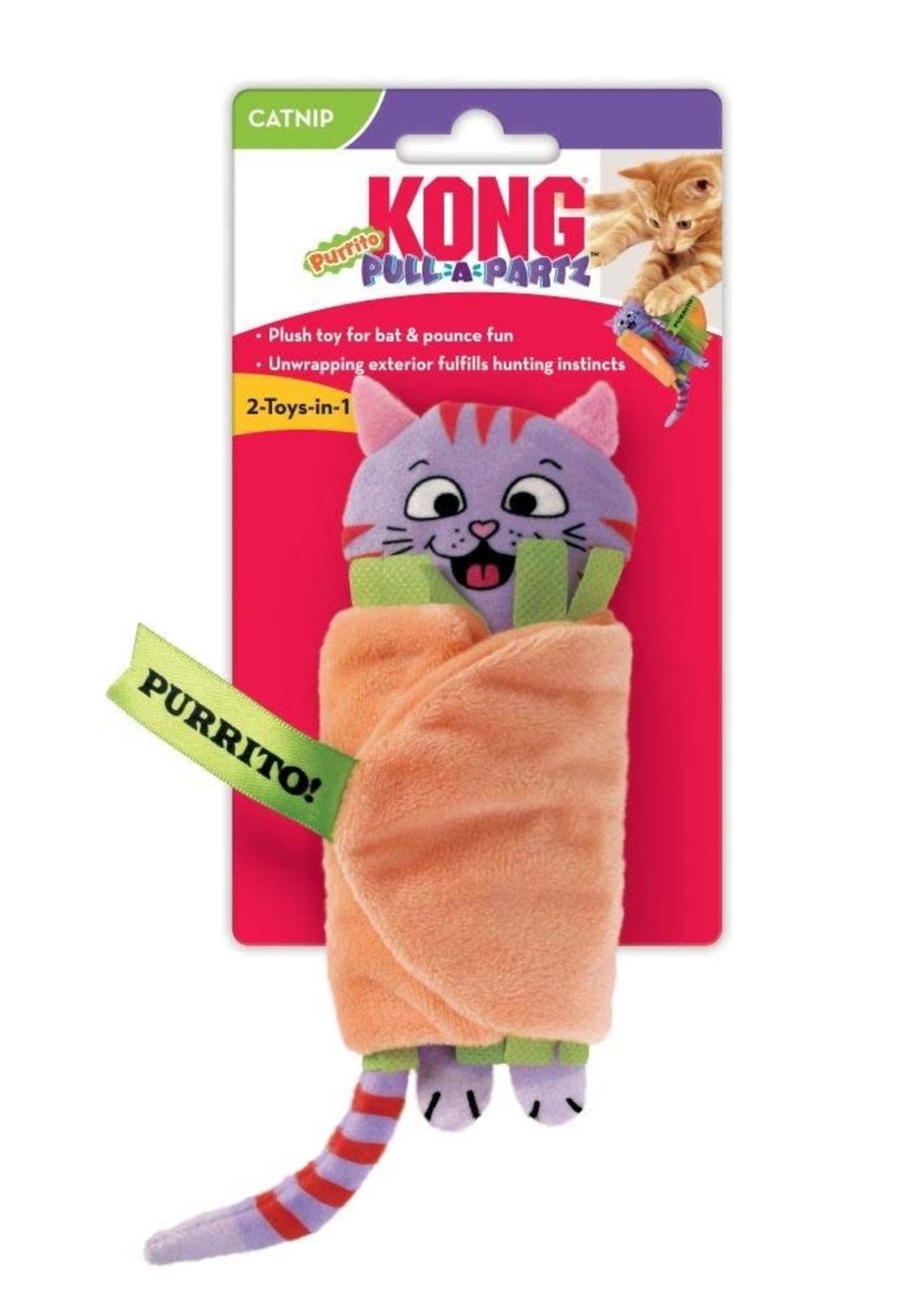KONG COMPANY LLC Kong Pull-A-Partz Purrito Cat Toy