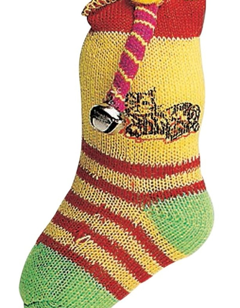 Ethical Product Inc./Fashion Pet/Lookin Good Ethical Products Spot Neon Sock With Catnip & Bell 5in