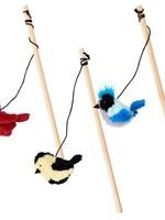 Spot Spot Songbird Teaser Wand Cat Toy Assorted