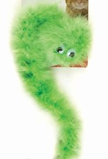 JW Pet/Doskocil Manufacturing JW Featherlite Catnip Boa Squeaky Cat Toy