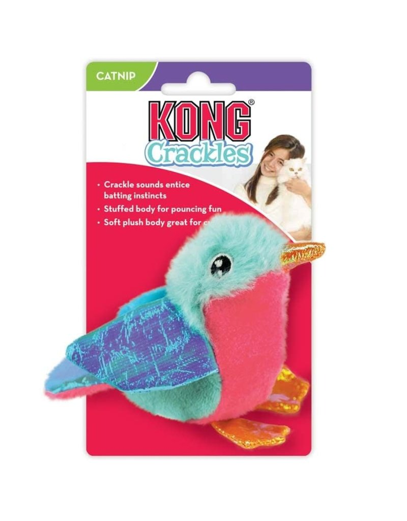 KONG COMPANY LLC KONG Crackles Tweetz Bird Cat Toy