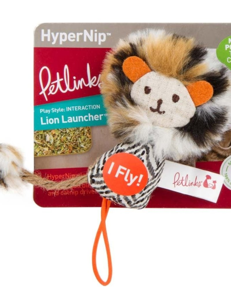 Petlinks Petlinks Safari HappyNip Lion Launcher Cat Toy