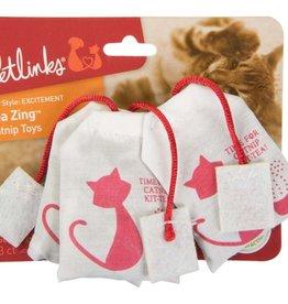 WORLDWISE INC / PET LINKS Petlinks Tea Zing 100% Catnip Cat Toys 3pk