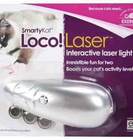 WORLDWISE INC / PET LINKS SmartyKat Loco Laser Interactive Laser Pointer Toy Assorted Colors