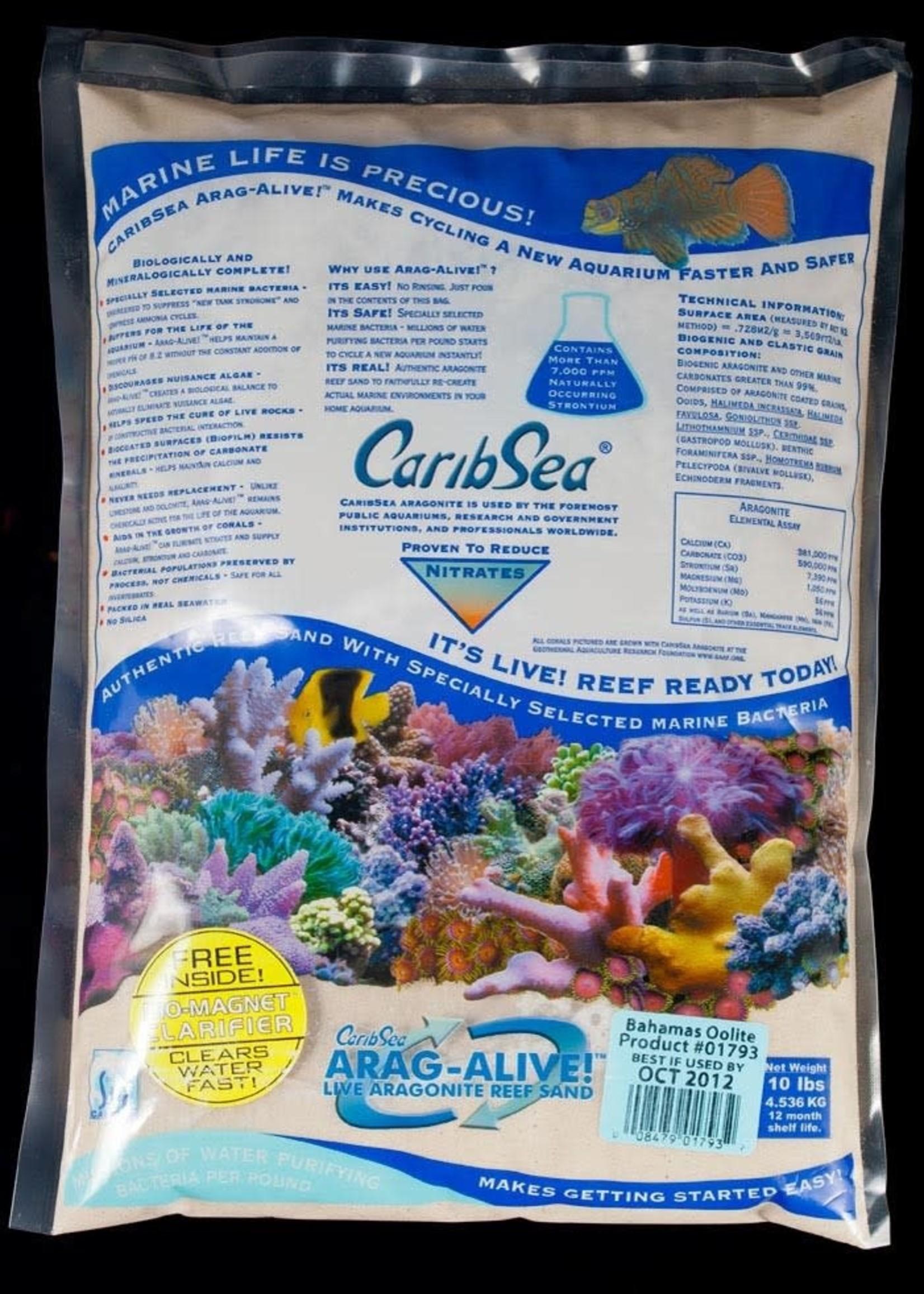 CARIBSEA INC CaribSea Arag-Alive Bahamas Oolite 10lb