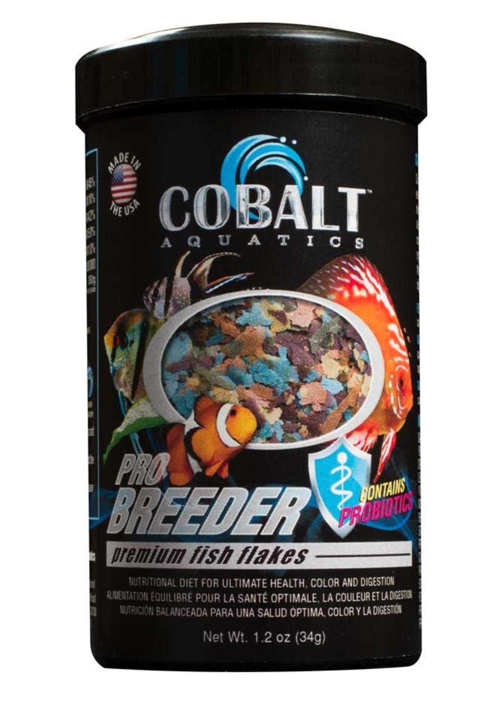 Cobalt International, Inc Cobalt Aquatics Pro Breeder Fish Flakes 1.2oz