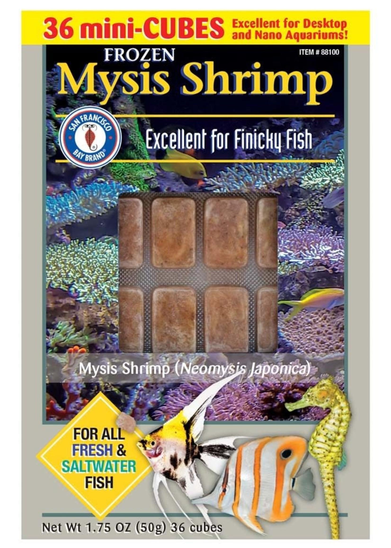 SAN FRANCISCO BAY BRAND INC San Francisco Bay Brand Frozen Mysis Fish Food Cubes 1.75oz